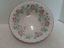 "Churchill English Tableware Staffordshire, Briar Rose, Serving Bowl 9 1/4"""