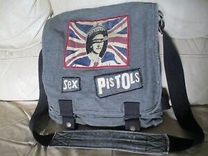 Official Bioworld SEX PISTOLS Cross Body Messenger / Shoulder Bag
