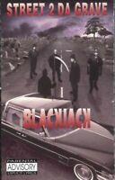 BlackJack Street 2 Da Grave 1993 Cassette Tape Album Hiphop Rap