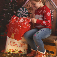 Personalised Large Red Christmas Gift Sack