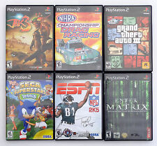 JAK 3 CHAMPIONSHIP DRAG RACING GRAND THEFT AUTO GTA 3 + PS2 VIDEO GAME LOT.
