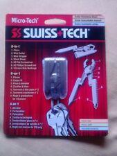 SWISS+TECH MICRO-TECH Stainless Steel  6 In 1 Multi-Tool Plier ST50022 **NEW**