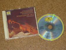 CD Beethoven Schneiderhan Oistrach Oistrakh Violin Concerto DGG