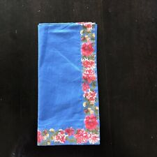 "Pier One ""Blue Floral"" Napkin"