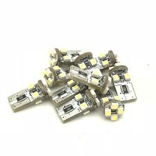 8 LED Canbus Error Free T10 194 501 W5W Bulbs Lighting Lamp Replacement Part