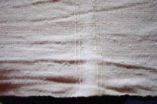 Nappe N°57 ancienne en chanvre  225 x 109 cm liteaux état neuf