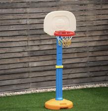 Kids Adjustable Basketball Set Indoor Outdoor Toddler Hoop Stand Sport Toy Ball