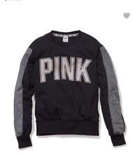 Victoria Secret Pink College Crew Sweatshirt med