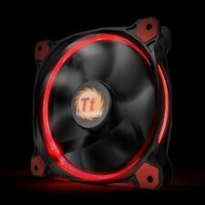 2x Thermaltake Fans 140mm Riing 14 LED Red never used excellent condition no box
