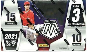 2021 Panini Mosaic MLB Baseball cards Hobby Box BRAND NEW - WOW - RARE