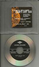 LUCINDA WILLIAMS Can't Let go ULTRA RARE 1TRK PROMO Radio DJ CD single 1995 USA