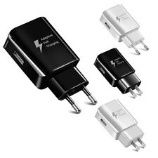 US/EU USB Wall Charger Fast Charging Home Travel Adapter For Samsung S9 S7 NOTE5