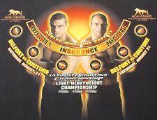 NEW BLACKJACK LAYOUT 2004 UFC 49 MGM Las Vegas Couture Belfort MMA Table Felt