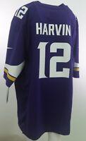 Minnesota Vikings Official On Field Nike  Men's Size Harvin Jersey New