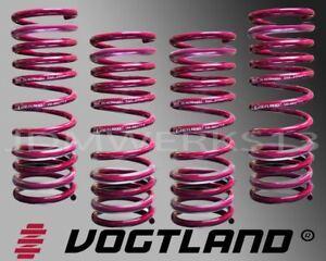 VOGTLAND GERMAN LOWERING SPRINGS 956024 VOLKSWAGEN JETTA & BORA VR6 1999 to 06
