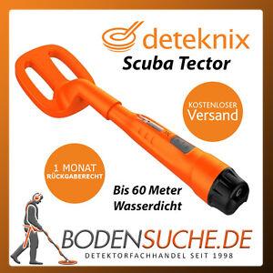 Deteknix Scuba Tector Unterwasser Metalldetektor -> Neuware von Fachhändler