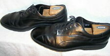 Mephisto Air-Relax sz 12 Goodyear Welt Black Leather Bicycle Toe Shoes