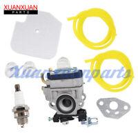 TH026D-AC57 Carburetor Air Filter For Husqvarna 125BT Handheld Blower Fuel Line