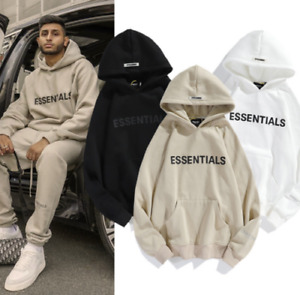 FEAR OF GOD ESSENTIALS Paar Pullover Hoodie FOG Herren Damen High Street Jacke