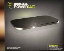 Wireless Charger Duracell Powermat for 2 Devices (PMA compatible) Black