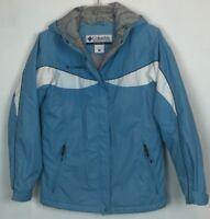 Columbia Size S Womens Winter Coat Ski Jacket Blue