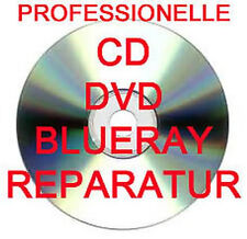PROFESSIONELLE CD / DVD / BLURAY / SPIELE DISC REPARATUR