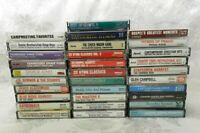 Lot of 31 Country Gospel Cassette Tapes Tennessee Ernie Ford + More!