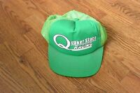 Vintage Quaker State Racing Green Trucker Cap Hat Snapback