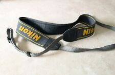 Vintage Nikon Camera Neck Shoulder Strap : Grey : Nice Condition