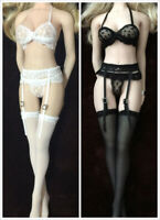 Girl Clothes 1/6 Female Figure Lace Underwear Clothes Stockings Accessory