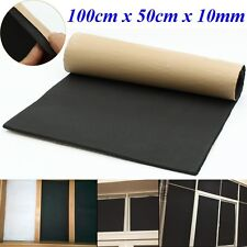 1 Roll Car Sound Proofing Deadening Vehicle Insulation Closed Cell Foam 10mm