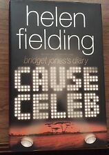 Cause Celeb Helen Fielding Hardcover Book First Edition 1st Printing Humor
