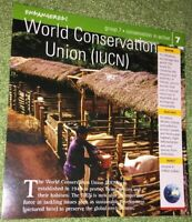 Endangered Species Animal Card-Conservation In Action-World Conservation Union