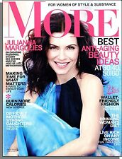 More Magazine - 2012, April - Julianna Margulies, Best Anti-Aging Beauty Ideas