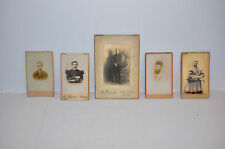LOT 5 PHOTOS MILITAIRES EVEQUE ZOUAVE RELIGIEUX HEON JACQUES NANTES (A48)