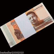 CAMBODIA 100 RIELS UNC BUNDLE 100 PCS LATEST ISSUE MONK BUDHA