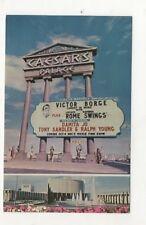 Postcard For Caesars Palace, Las Vegas Nevada Victor Borge Headliner