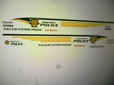 Navajo Nation Tribal Police Vehicle Decals  1:64  two for one money
