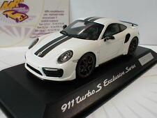 """Spark WAP0209060H - Porsche 911 (991) Turbo S in """" weiß /schwarz """" 1:43"""