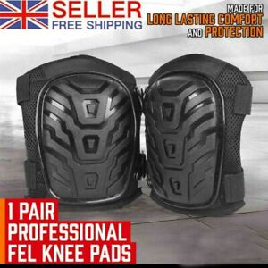 Professional Gel Knee Pads Heavy Duty & Foam Padding Knee Protection Safety Work