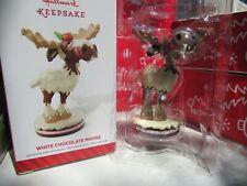 Hallmark Keepsake White Chocolate Moose in box