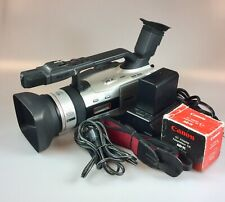 Canon Gl2 Camcorder - Black/Silver in good condition, with accessories