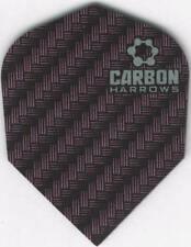 Purple CARBON Dart Flights: 3 per set