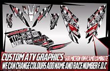 YAMAHA RAPTOR 250/350/660/700 GRAPHICS DECALS