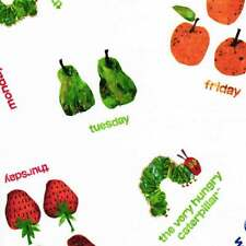 """ANDOVER """"THE VERY HUNGRY CATERPILLAR"""" FRUITS Multi by yard"""