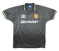 Manchester United 1998-99 Authentic Third Shirt (Excellent) M Soccer Jersey