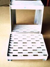 "Heavy Duty Aluminum  Saddle Step Box Step Kit 12"" wide"