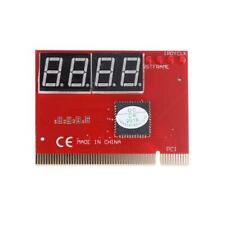 PC 4-digit Code Mainboard Motherboard Diagnostic Analyzer Tester PCI Card BEST