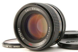 MINT/ CONTAX Carl Zeiss Planar 50mm F1.4 T* MMJ Y/C from Japan #1202