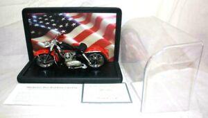 Harley Davidson 1957 XL Sportster Franklin Mint Precision Models 1:10 Scale ~SS